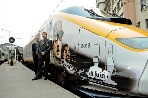 remembering 18 jun 2010 - Special livery Eurostars